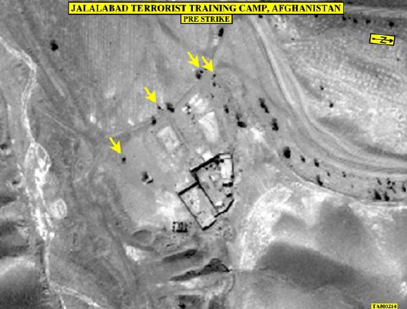 Campo de entrenamiento de grupo terrorista MAHT2016.